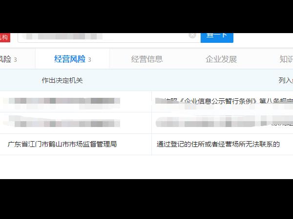江门公司注册地址和经营地址能分开吗